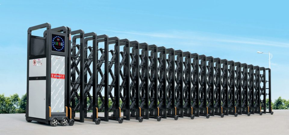 5 mẫu cổng xếp hợp kim nhôm và cổng xếp inox bán chạy nhất