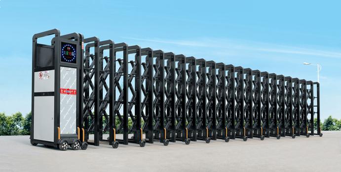 cổng xếp inox bán chạy THP 145
