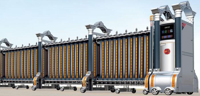 Cổng xếp inox mới nhất 2016 THP-606