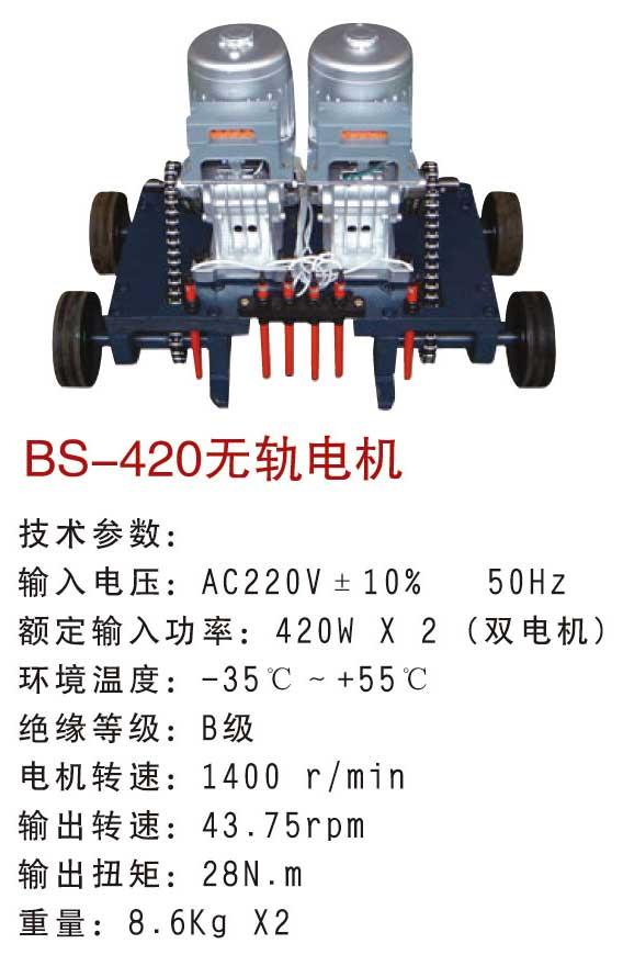Motor tự động không đường ray Baisheng 420w